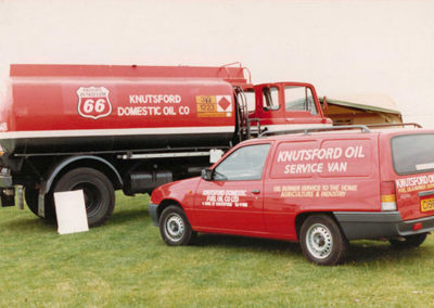 Knutsford Domestic Fuel Oil Company Cheshire Show, Tatton Park 1995
